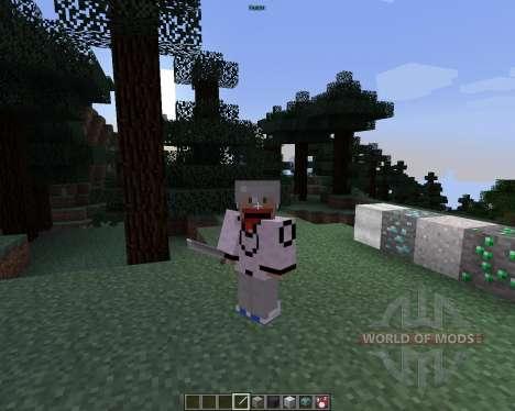 Bleach [1.7.2] for Minecraft