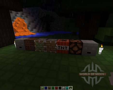 CubeBlocks [16x][1.7.2] for Minecraft