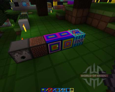Crazy colors [16x][1.7.2] for Minecraft
