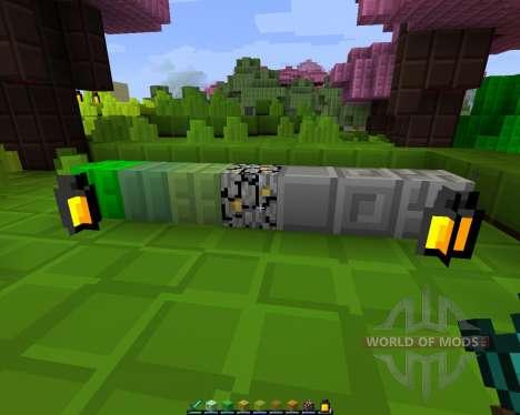 Blocky: Reborn [8х][1.8.1] for Minecraft