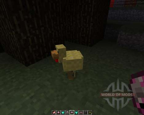 Aether Texture Pack [16х][1.8.1] for Minecraft