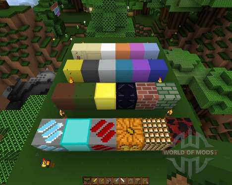 Movidacraft Simple Texture Pack [16x][1.8.1] for Minecraft