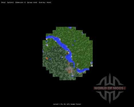MapWriter [1.7.2] for Minecraft