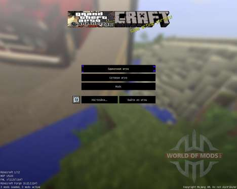 Gta San Pack [64x][1.7.2] for Minecraft