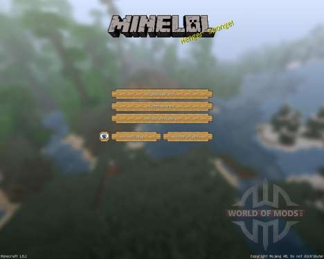 MineLoL Realistic [64x][1.8.1] for Minecraft