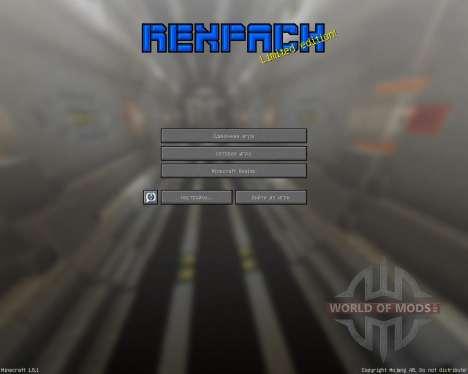 REX PACK [32х][1.8.1] for Minecraft