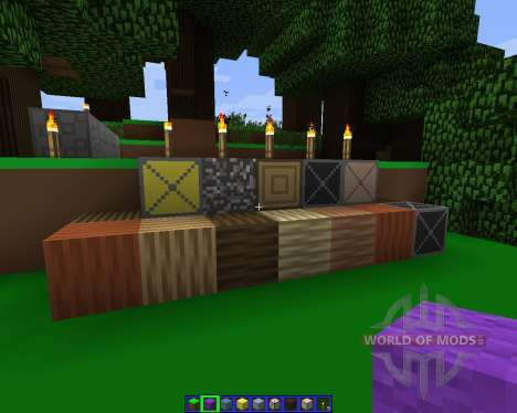 Simple.H [64x][1.7.2] for Minecraft
