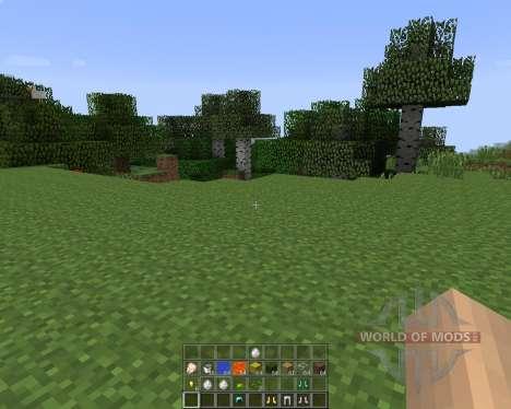 Quick Hotbar [1.7.2] for Minecraft