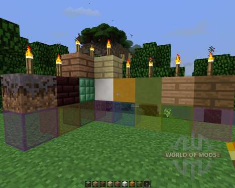 Silver Stone [64x][1.7.2] for Minecraft