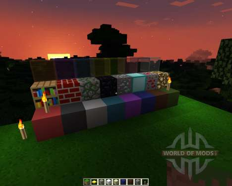 Flat Craft [32x][1.7.2] for Minecraft