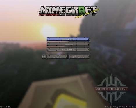 Sphax PureBDCraft [256х][64х][1.8.1] for Minecraft