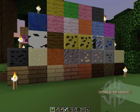 Pixel Pack [16x][1.7.2] for Minecraft