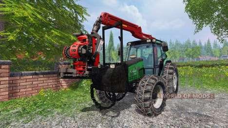 Valtra Valmet 6600 forest for Farming Simulator 2015