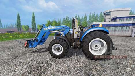 New Holland T4.75 garden edition v3.0 for Farming Simulator 2015