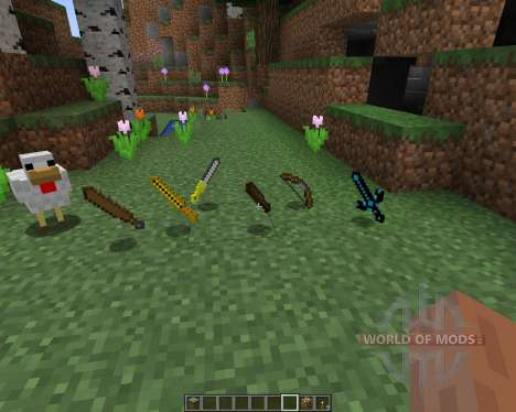 Ancient Swords [16x][1.8.1] for Minecraft