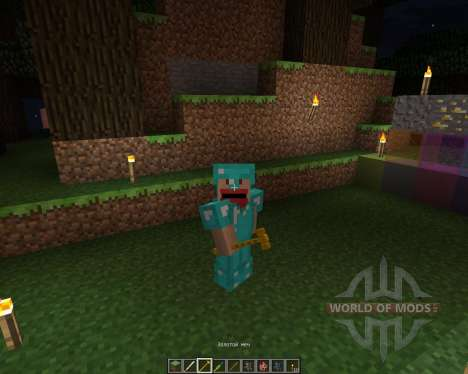 Keening and Assorted Swords Pack [64x][1.7.2] for Minecraft