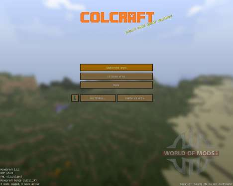 ColCraft [16x][1.7.2] for Minecraft