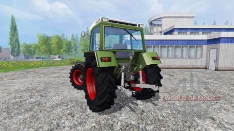 Fendt Farmer 310 LSA v2.1 for Farming Simulator 2015