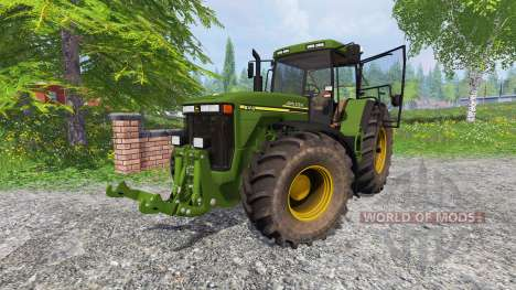 John Deere 8410 v1.2 for Farming Simulator 2015