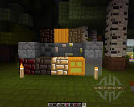 Crunchie Halloween [64x][1.7.2] for Minecraft