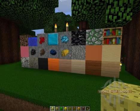 Detailed Realism [128х][1.8.1] for Minecraft
