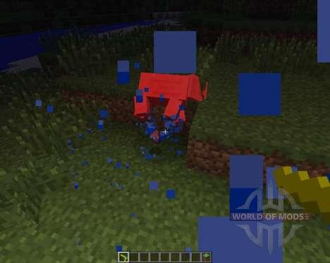 Water Gun [1.6.2] for Minecraft