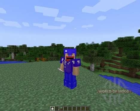 Colorful Armor [1.7.2] for Minecraft
