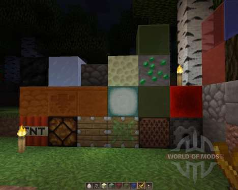 Hexacraft [128x][1.8.1] for Minecraft