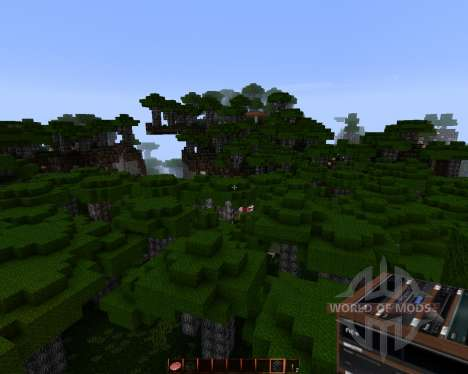 Big Realistic HD [128x][1.8.1] for Minecraft