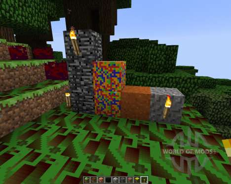 Trippin Texture Pack [16x][1.7.2] for Minecraft