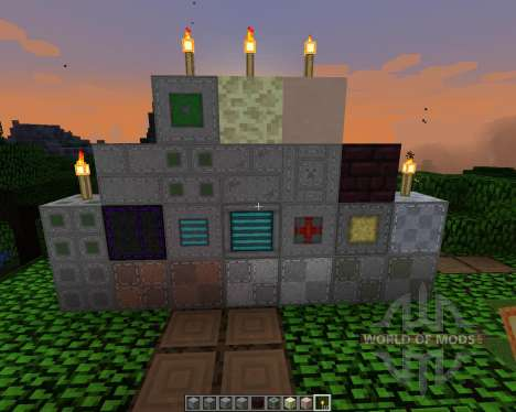 Aarons Stitch Up [64x][1.8.1] for Minecraft