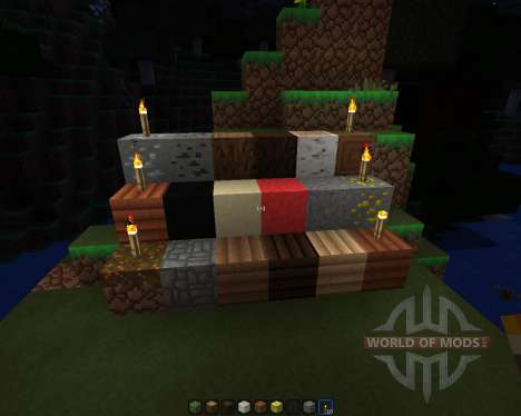 Carbon Modern [16x][1.7.2] for Minecraft