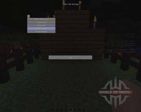 Zyins HUD [1.6.2] for Minecraft