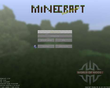 Full of Life [128x][1.7.10] for Minecraft