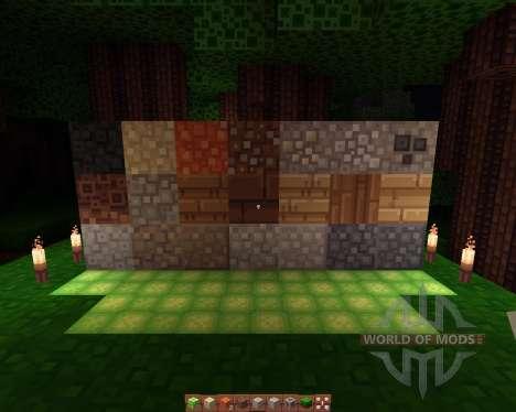 Quadral resourcepack [16х][1.8.1] for Minecraft