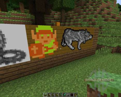 Animated Paintings [16x][1.7.2] for Minecraft