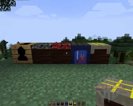 Tall Doors [1.7.2] for Minecraft