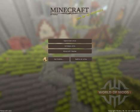 Willpack HD [32x][1.8.1] for Minecraft