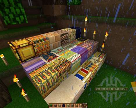 Ancient Egypt [16x][1.7.2] for Minecraft