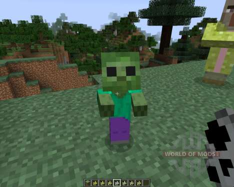 Kwasti Bust Monsters [1.7.2] for Minecraft
