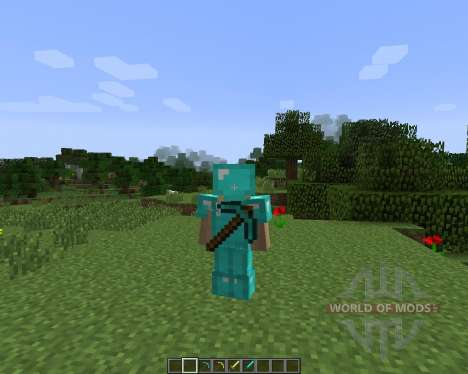 Back Tools [1.7.2] for Minecraft
