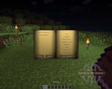 Familiars [1.6.2] for Minecraft