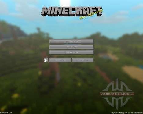 Dеcor 2.5 [16х][1.8.1] for Minecraft