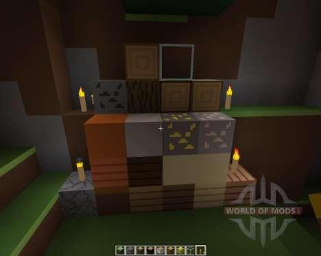 PureBlock [16x][1.7.2] for Minecraft