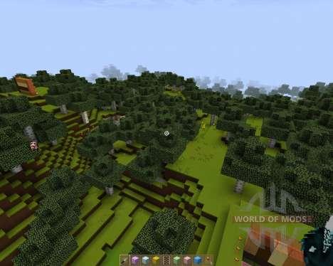 Pavilion [128x][1.7.2] for Minecraft