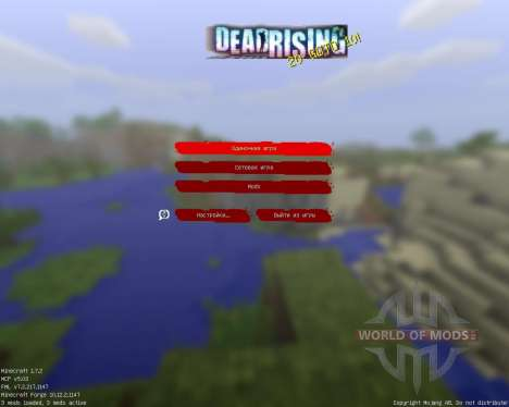 Dead Rising [32x][1.7.2] for Minecraft