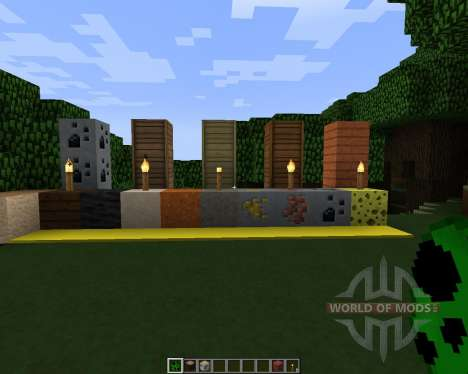 Peace Dimension [32x][1.7.2] for Minecraft