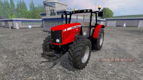 Massey Ferguson 6480 FL for Farming Simulator 2015