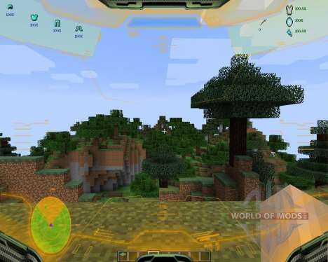 Halo HUD [1.7.2] for Minecraft