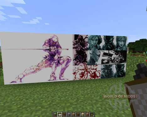 Metal Gear Solid ART PACK [128x][1.7.2] for Minecraft